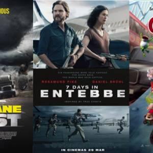 【电影好坏】《7 Days In Entebbe》VS《The Hurricane Heist》VS《Sherlock Gnomes》