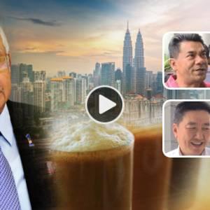 """纳吉成功带领国家转型?  """"以前拉茶RM1.40,现在RM2.20"""""""