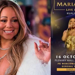 玛丽亚凯莉1016吉隆坡开唱!门票下周开放预购!