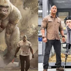 "《Rampage》大猩猩曾演""死神""! 身高比巨石强森还高"