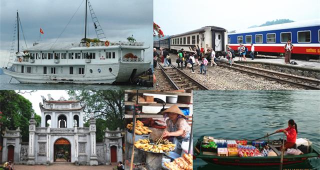 北越6天5夜之旅:从搭飞机、坐火车、骑摩托再到睡船!