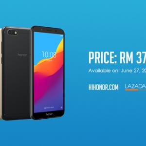 honor 7S 6月27日正式登场!仅售RM379!
