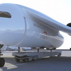 火车 飞机 世纪大结合! 能在天上飞也能在轨道上行驶