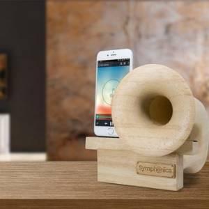 Speaker不用任何电源 可以让手机音量提高一倍?!