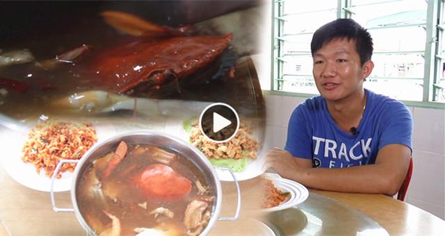 """【鸿运海鲜四宝汤】李润彬 :""""儿时我在志愿一栏写想当厨师,结果气到了妈妈……"""""""