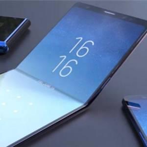 Samsung 11月 展示全球首款可折叠手机