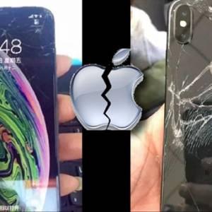 真的摔不起!iPhone XS全球首碎