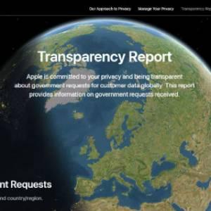 不再是秘密!Apple公开各国政府索取用户资料详情!