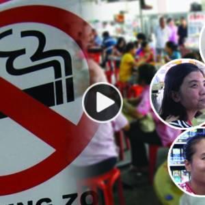 """禁烟令影响生意?""""以前卖香烟有RM700,现在只有RM180"""""""