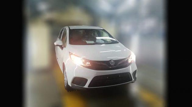 小改款Proton Iriz发布在即 车头和车尾造型曝光