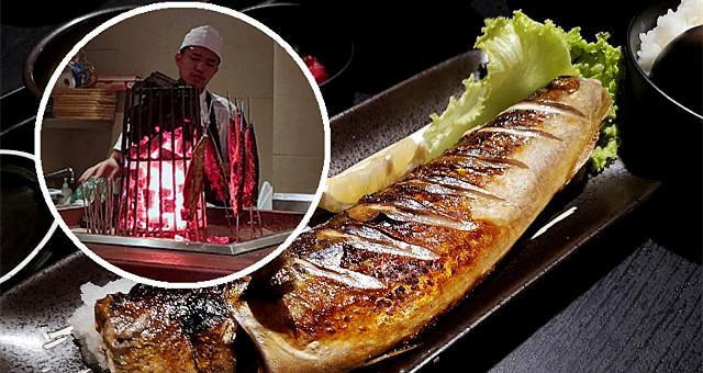 【网友食评】让人惊艳的现点现做炭烤鲭鱼!