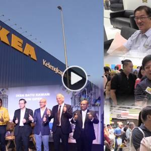 """槟城IKEA开幕了!民众:""""终于有地方kea了!"""""""