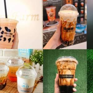 """奶茶巷out了!这里有超过30家奶茶店,已改名变""""奶茶镇""""!"""