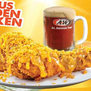 咸蛋迷看过来! A&W推出限时香橙咸蛋炸鸡!