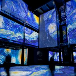梵高多感官体验展  3000幅名画让你置身梦幻艺术世界