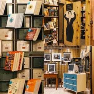 旧银行里充满文青气息 历史建筑里的书店超有格调!