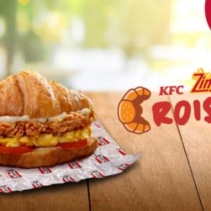 KFC推出全新早餐! 牛角包搭配鸡肉块与炒蛋的元气滋味