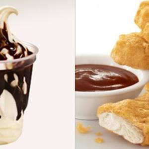 Mcd让你幸福洋溢!一个微笑,免费送你冰淇淋!