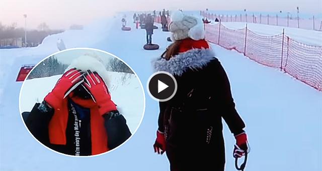 【网友分享】零下29度的哈尔滨,姐姐们都伸不出长腿来了!