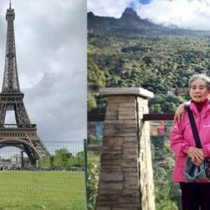 人生胜利组!88岁外婆还能爬山、到欧洲走一圈!