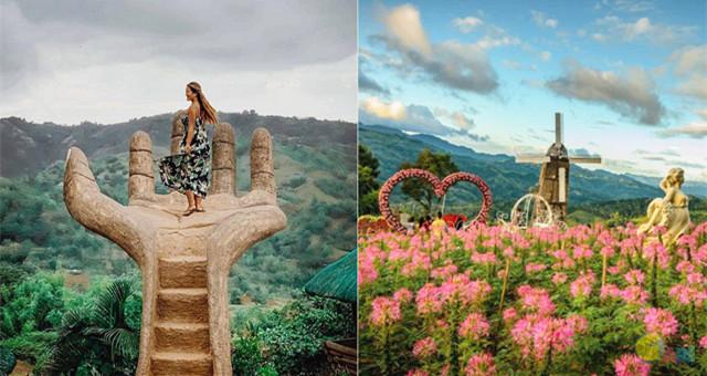 菲律宾让人震撼的景色:站在巨人手掌上看风景!