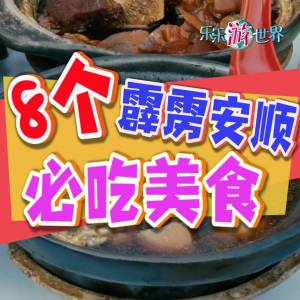 8个霹雳安顺必吃美食