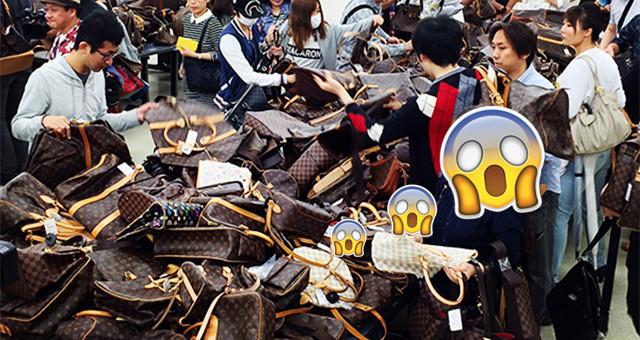 """大家都买到 """"失去理智""""了!东京世界二手名牌拍卖会叫人太疯狂!"""