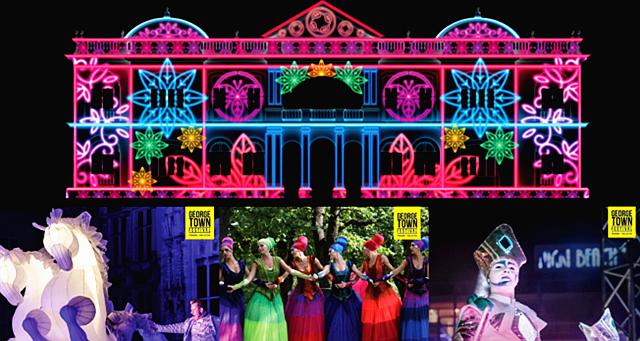 【旅游情报】一连16天精彩绝伦活动!2019乔治市艺术节即将启动!