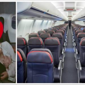 """搭飞机遇真爱!""""或许你们都不相信,但这是真的!"""""""