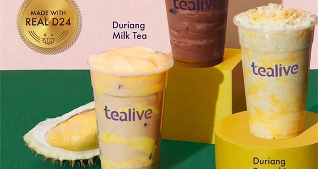 【饮食情报】给你来点重口味的…… 榴莲奶茶 !