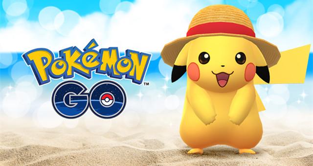 """《Pokemon GO》&《航海王》携手打造!穿着""""草帽的皮卡丘""""将在世界各地萌出没!"""