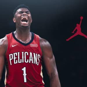 威廉姆森签下Jordan品牌  立志向乔丹看齐!