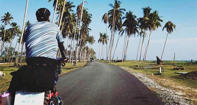 【网友分享】不一样的大马旅行方式 :95天的慢骑环岛记!