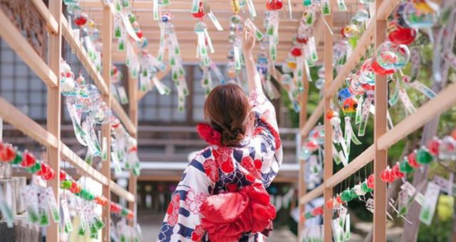"""大马的七夕拜七娘妈,日本的七夕则有超梦幻的 """"风铃祭""""!"""