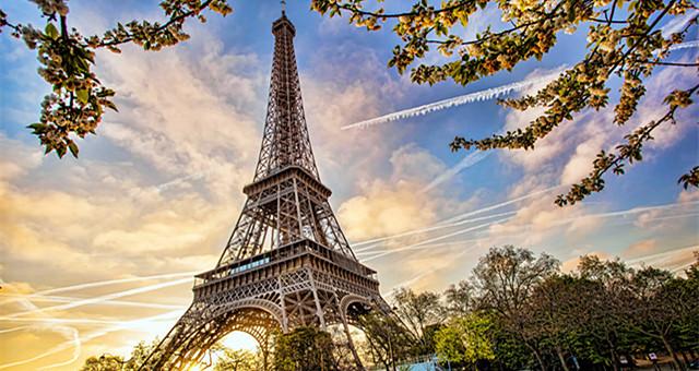 待机、转机……8小时在巴黎拍拍照