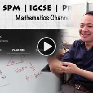 不一样的Youtuber!线上教高级数学,提供免费教育!