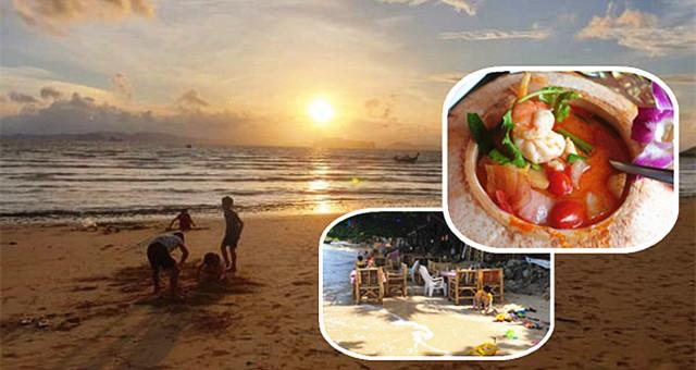 往Krabi最左边的海岸线去,那里也有个适合度假的海岛叫Klong Muang!