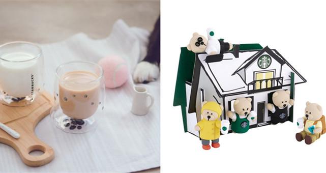 """【旅游购物】7-11 """"ibon mart"""" 推出可爱新品 —— 除了有狗掌双层玻璃杯,还有星巴克熊杯子缘!"""