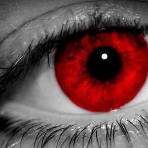 听到怪声去寻找来源,却看见血红色的眼珠!