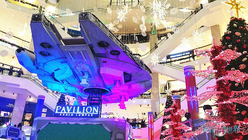 《星球大战 》入侵Pavilion KL !今年圣诞装饰主题酷登场!