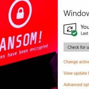 小心Windows更新通知!实际上暗藏勒索软件!