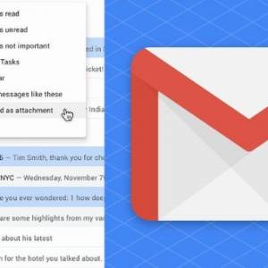 """把""""邮件""""转换成""""附件""""再发送!Gmail新功能超方便!"""