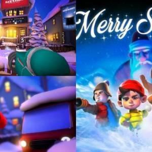 Steam送出VR游戏!《Merry Snowballs》即日起至2月1日免费领取!