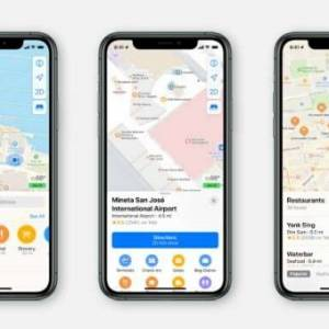 苹果重新构建地图!提高隐秘性还有导航准确度!