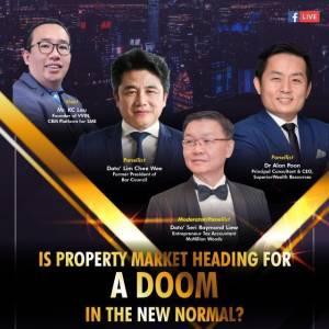 视频直播:房地产市场将走向崩溃吗? 4月27日 9pm