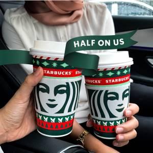 Starbucks 最新促销 | 第二杯饮料 50% 折扣!