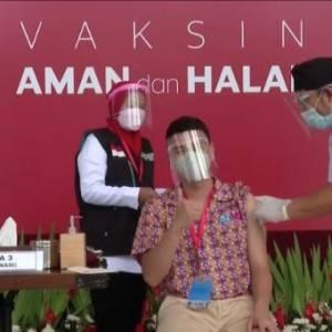 印尼网红将优先接种疫苗!