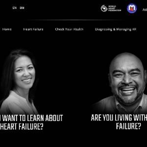 大马国家心脏协会 (NHAM) 和阿斯利康联手通过全新网站来提升大众对于心脏衰竭问题的认识。