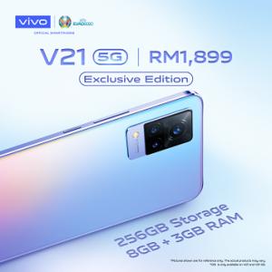 vivo发布极致自拍旗舰智能手机 V21系列- V21 5G独家版
