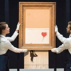 毁掉一半的画居然更值钱?一幅几年前毁掉的画重新拍买,又被拍出了天价
